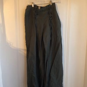 GAP Pants - gap high-rise wide leg pants